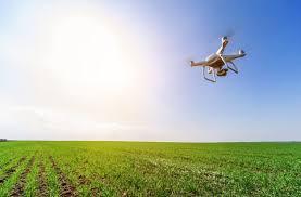 Uso de drones para a visualização de danos de erosão